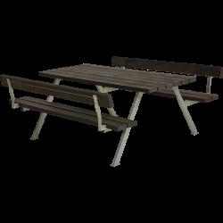 Stort bord-bænkesæt