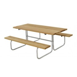 Classic bord-bænkesæt, lærk-20