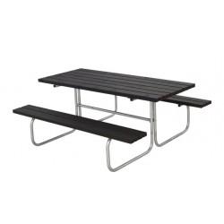 Classic bord-bænkesæt, sort-20