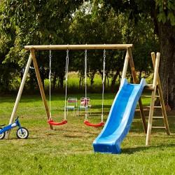 Gyngestativ og rutsjebane til børn-20