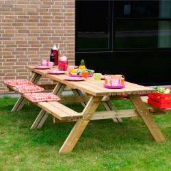 Mega bord/bænke sæt, 300 cm-20