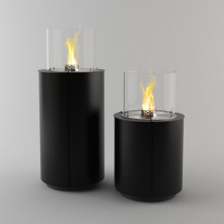 Biopejs Decoflame Monaco Round Tower Black-20