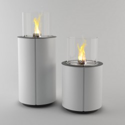 Biopejs Decoflame Monaco Round Tower White-20