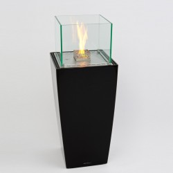 Decoflame Nice Tower Black Luksus biopejs-20