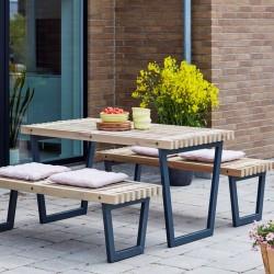 Siesta Lounge bord bænkesæt terrassemøbler-20