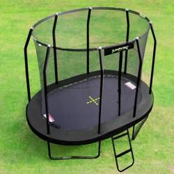 Trampolin til haven Jumpking Oval Black 3,5 x 2,44 m-20