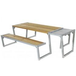 Zigma bord-bænkesæt, lærk-20