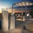 Biopejs Decoflame Dubai Square Tower White-01